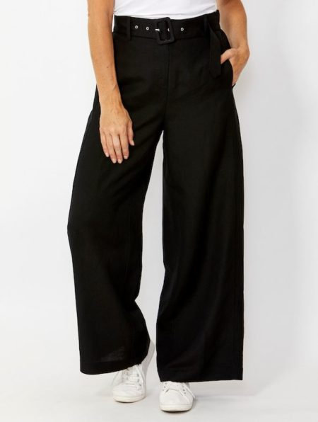 Ping Pong Belted Palazzo Pant