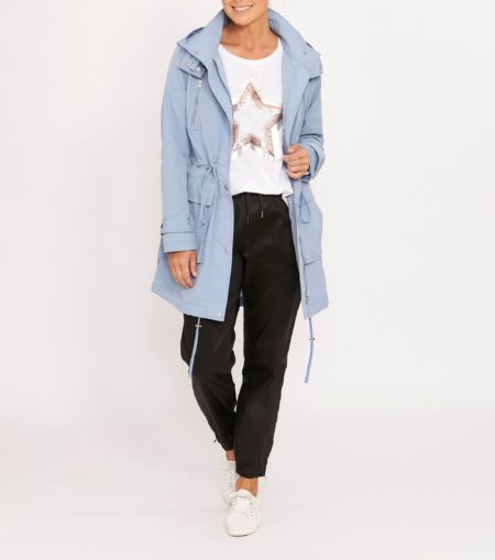 Ping Pong Everyday Walking Jacket Cornflower