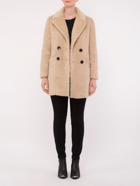 Ping Pong Teddy Coat Oatmeal